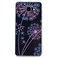 voordelige Galaxy A5(2016) Hoesjes / covers-hoesje Voor Samsung Galaxy A5(2017) A3(2017) Transparant Patroon Achterkant Paardebloem Zacht TPU voor A3 (2017) A5 (2017) A7 (2017)