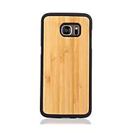 Для С узором Кейс для Задняя крышка Кейс для Один цвет Твердый Дерево для Samsung S7 edge S7