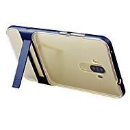 Для со стендом Полупрозрачный Кейс для Задняя крышка Кейс для Один цвет Твердый PC для HuaweiHuawei P9 Huawei Honor 6X Huawei Mate 9