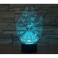 Недорогие Интеллектуальные огни-Звездные войны в одну тысячу сокола 3 г светло-yakeli стерео свет привел красочный градиент атмосферу лампы