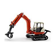 お買い得  -KDW おもちゃ 建設車両 おもちゃ 掘削機械 プラスチック メタル 1 小品 子供用 ギフト