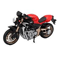 Játékautók Játékok Motorbicikli Versenyautó tettetés Kacsa Torony Hintó Motorkerékpár Ló Fém ötvözet Ajándék Action & Toy figurák Akció