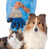 voordelige Badkamergadgets-hond haar borstel kam handschoen voor huisdier reiniging massage handschoen voor het schoonmaken van dieren kat haar handschoen huisdier