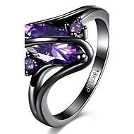女性用 指輪 ファッション 合成宝石類 合金 幾何学形 ジュエリー 用途 パーティー 日常