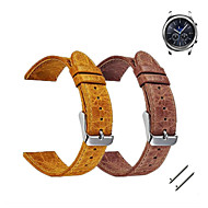Недорогие Часы для Samsung-Ремешок для часов для Gear S3 Frontier / Gear S3 Classic Samsung Galaxy Спортивный ремешок / Классическая застежка Кожа Повязка на запястье