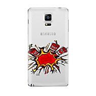 Для Прозрачный С узором Кейс для Задняя крышка Кейс для Мультяшная тематика Мягкий TPU для Samsung Note 5 Note 4 Note 3 Note 2