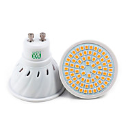 ywxlight® 1pc gu10 72led 7w 2835smd 500-700lm bianco caldo bianco bianco naturale faretto led (ac 110v / ac 220v)