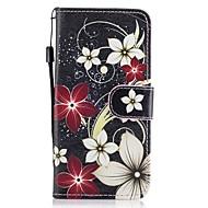 Для Кошелек Бумажник для карт со стендом Флип С узором Кейс для Чехол Кейс для Цветы Твердый Искусственная кожа для SamsungA3 (2017) A5