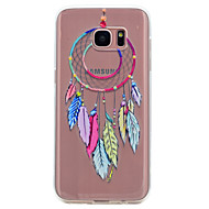 billige Galaxy S5 Mini Etuier-Etui Til Samsung Galaxy S8 Plus S8 Transparent Mønster Bagcover Drømme fanger Blødt TPU for S8 Plus S8 S7 edge S7 S6 edge S6 S5 Mini S5