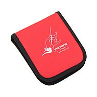 Varrókészlet utazáshoz Hordozható Tárolási készlet mert Hordozható Tárolási készlet Piros