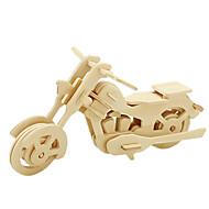 billige Legetøj og hobbyartikler-Robotime 3D-puslespil Puslespil Træmodeller Motorcykel 3D GDS Træ Klassisk Motorcykel Unisex Gave