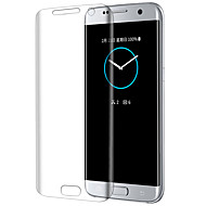 お買い得  -スクリーンプロテクター Samsung Galaxy のために S7 edge 強化ガラス 1枚 スクリーンプロテクター 傷防止 ハイディフィニション(HD)