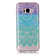 billige Galaxy S5 Etuier-Etui Til Samsung Galaxy S8 Plus S8 Transparent Mønster Bagcover Mandala-mønster Blødt TPU for S8 S8 Plus S7 edge S7 S6 edge S6 S5