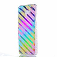 hoesje Voor Samsung Galaxy J7 (2016) J5 (2016) Schokbestendig Beplating Doorzichtig Patroon Achterkantje Lijnen / golven Zacht TPU voor
