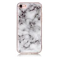 Недорогие Кейсы для iPhone 8-Кейс для Назначение Apple iPhone X iPhone 8 IMD Кейс на заднюю панель Мрамор Мягкий ТПУ для iPhone X iPhone 8 Pluss iPhone 8 iPhone 7