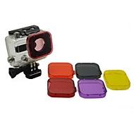 お買い得  スポーツカメラ & GoPro 用アクセサリー-アクセサリー ダイブフィルター 高品質 ために アクションカメラ Gopro 3 Sport DV 潜水