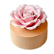 tanie Zabawki & hobby-Music Box Zabawki Róże Ceramika Drewniany Sztuk Dla obu płci Prezent