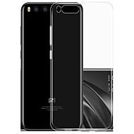 preiswerte -Für Hüllen Cover Ultra dünn Transparent Rückseitenabdeckung Hülle Einheitliche Farbe Weich TPU für Xiaomi Xiaomi Mi 6