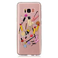 Mert Átlátszó Minta Case Hátlap Case Szexi lány Rajzfilmfigura Puha TPU mert Samsung S8 S8 Plus S5 Mini S4 Mini