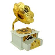 voordelige Speelgoed & Hobby's-Muziekdoos Speeltjes Fonograaf Muovi Metaal Stuks Unisex Geschenk