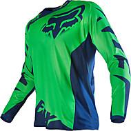 Zorro motocicleta off-road camiseta manga larga traje de equitación velocidad de los deportes al aire libre ropa casual