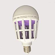 Χαμηλού Κόστους LED Λάμπες Σφαίρα-15W 120 lm E27 LED Λάμπες Σφαίρα leds Άσπρο AC85-265 AC 220-240V