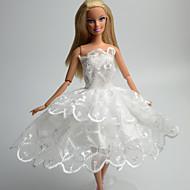 abordables -Princesa Vestidos por Muñeca Barbie  Tela de Encaje Organdí Vestido por Chica de muñeca de juguete