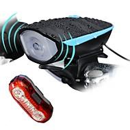 Pyöräilyvalot Polkupyörän etuvalo Polkupyörän jarruvalo LED Pyöräily Ladattava Vedenkestävä Himmennettävissä Helppo kantaa Litium-paristo