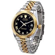 Недорогие Фирменные часы-Tevise Муж. Для пары Модные часы Механические часы С автоподзаводом 30 m Защита от влаги Календарь Светящийся сплав Группа Аналого-цифровые Роскошь Винтаж На каждый день / Нержавеющая сталь