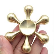 Fidget Spinners Przędzarka ręczna Zabawki Zabawki Mosaz EDCStres i niepokój Relief Zabawki biurkowe Zwalnia ADD, ADHD, niepokój, autyzm