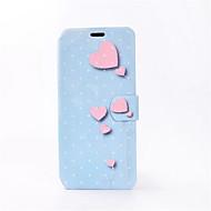 Кейс для Назначение SSamsung Galaxy S8 Plus S8 Бумажник для карт со стендом Флип С узором Чехол С сердцем Твердый Искусственная кожа для