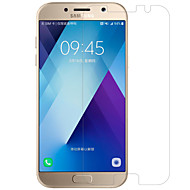 Недорогие Чехлы и кейсы для Galaxy A-Защитная плёнка для экрана Samsung Galaxy для A5 (2017) PET 1 ед. Защитная пленка для экрана Ультратонкий Зеркальная поверхность HD