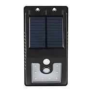 お買い得  LED ソーラーライト-1 W LEDフラッドライト 防水 / 自動タイプ / 赤外線センサー ナチュラルホワイト 屋外照明 10 LEDビーズ