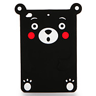 Voor apple ipad mini 123/4 case cover patroon achterkant behuizing 3d cartoon zachte silicone