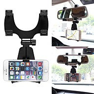 ziqiao 360度車のバックミラーマウント携帯電話ホルダーブラケットは、iphoneの携帯電話のGPSのためのサムスンのためのスタンドスタンドスタンド