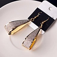 Women's Hollow Out Drop Earrings - Classic Black / Silver / Golden For Wedding Party Daily