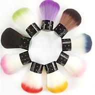 abordables Herramientas y Equipamiento-1pcs pelo sintético nail art brush top twinkled
