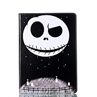 Недорогие Чехлы и кейсы для Galaxy Tab E 9.6-Кейс для Назначение SSamsung Galaxy Вкладка 9,7 Бумажник для карт Кошелек со стендом Флип Магнитный С узором Чехол Мультипликация Твердый