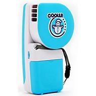 Creatieve handheld mini airconditioner ventilator sneeuwpop usb batterij draagbare koelstudenten kinderen laten kleine ventilator