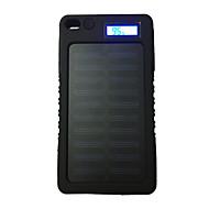 halpa -8000mAh teho pankki ulkoinen akku 5V 1.0AA Akkulaturi Takulamppu Aurinkopaneelilataus LCD