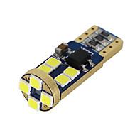 Недорогие Внешние огни для авто-SO.K T10 Лампы 3 W SMD 5050 200 lm Светодиодная лампа