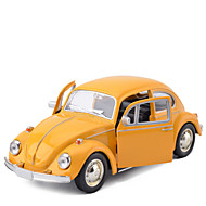Terugtrekvoertuigen Speelgoedauto's Klassieke auto Inrichting artikelen Simulatie Automatisch Beatles Metaal Unisex Geschenk Action & Toy