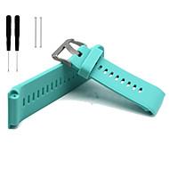 Недорогие Аксессуары для смарт-часов-Ремешок для часов для Vivoactive HR Garmin Спортивный ремешок силиконовый Повязка на запястье