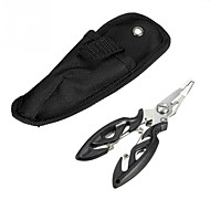 お買い得  釣り用アクセサリー-プライヤー 釣りツール ラインカッター&はさみ 1 個 プライヤー ステンレス+ABS樹脂