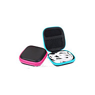 お買い得  トラベル小物-イヤホンホルダー / ケーブル巻取り機 旅行かばんオーガナイザー 防水 携帯用 防塵 小物収納用バッグ のために USBケーブル イヤホン クロス PUレザー 7.5*7.5