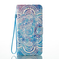 Назначение iPhone X iPhone 8 Чехлы панели Кошелек Бумажник для карт со стендом Флип С узором Чехол Кейс для Мандала Твердый Искусственная