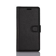お買い得  携帯電話ケース-ケース 用途 LG K8 LG LG K5 LG K4 LG K10 LG K7 LG G5 LG G4 カードホルダー ウォレット スタンド付き フリップ フルボディーケース 純色 ハード PUレザー のために LG X Screen LG X Power LG V20