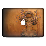 1개 스크래치 방지 그림 투명 플라스틱 바디 스티커 패턴 용MacBook Pro 15'' with Retina MacBook Pro 15'' MacBook Pro 13'' with Retina MacBook Pro 13'' MacBook Air
