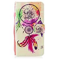 Недорогие Кейсы для iPhone 8 Plus-Кейс для Назначение Apple iPhone X iPhone 8 Бумажник для карт Кошелек со стендом Флип Магнитный С узором Чехол Ловец снов Твердый Кожа PU