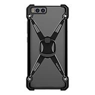 voordelige Telefoon hoesjes-Voor xiaomi mi 6 nillkin met stalen hoesje plating ring schokbestendige houder achterkant hoesje armor hard aluminium voor xiaomi